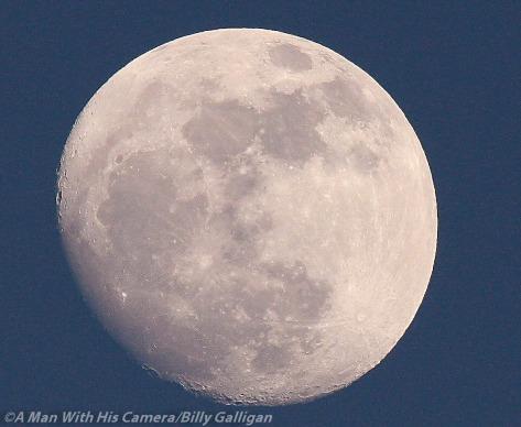 Moon over Dublin Tonight