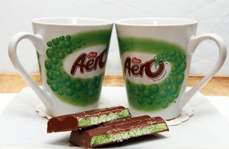 Day 13 Aero Mugs and Chocolate