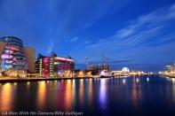 Dublin City at Night