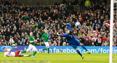 Day 37 Goal for Ireland vPoland