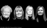 SmcG Portrait Floating Heads Edit BW