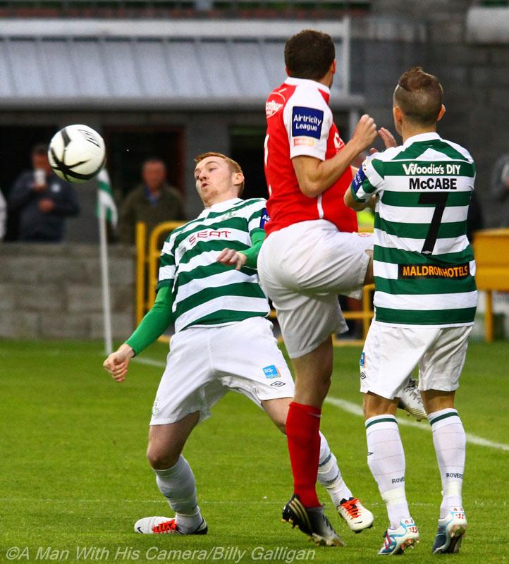 St Pats v Shamrock Rovers (4/6)