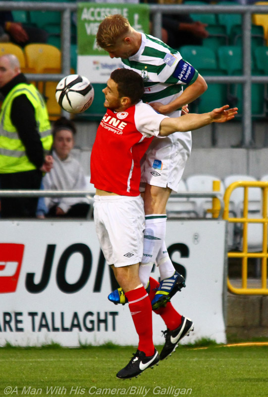 St Pats v Shamrock Rovers (5/6)