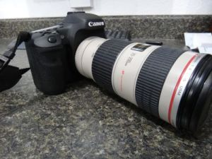 Canon 7D with 70-200 Attached